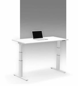Sitz-Steh Schreibtisch Leuwico Spine