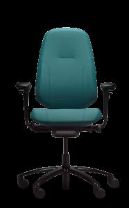 Bürostuhl RH Mereo 300 schwarze Ausführung mit hoher Rückenlehne