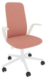 Haworth Büro-und Konferenzdrehstuhl Nia mit mittelhoher Rückenlehne