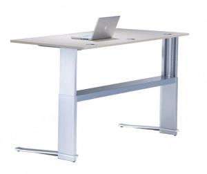 Sitz-Steh Schreibtisch Leuwico iMOVE C höhenverstellbar