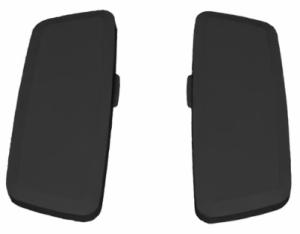 3D Armauflagenpaar Softtouch für Sedus Bürostühle