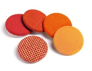 Sedus mag dots - 5 Magnete (Farbe: Rot- / Orange-Farbtöne)