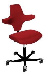Bürostuhl HAG Capisco 8126 mit gerader Sitzfläche