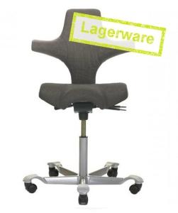 HAG Capisco 8106 sofort lieferbar Edition Anthrazit/Silber