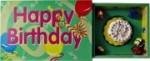 Happy Birthday Spieluhr in Streichholzschachtel mit bewegter Szene