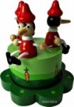 Spieluhr - Der hölzerne Pinocchio