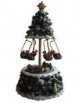 Tannenbaum Spieluhr mit Ketten-Karussell