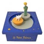 Musikdose aus Holz Der kleine Prinz © von Trousselier