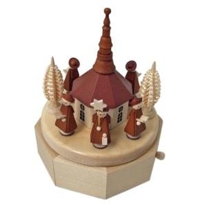 Seiffen im Erzgebirge - Spieldose (Musikwahl: Oh du fröhliche)