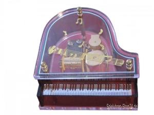 Flügel Acrylglas, Spieluhr mit Melodie Für Elise