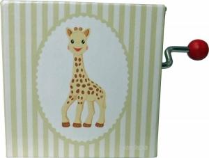 Handkurbel Drehleier/Drehorgel Sophie die Giraffe©