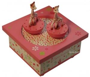 Trousselier Spieluhr Holz Sophie The Giraffe ©