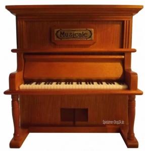 Klavier Spieluhr Holz mit Melodie Für Elise (Melodie: Für Elise Ludwig van Beethoven)