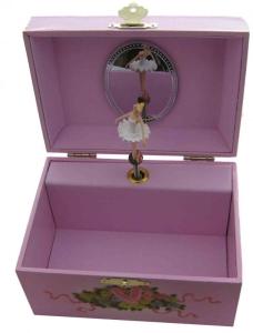 Kinder-Spieluhr, Ballerina rosa Tutu, Trousselier