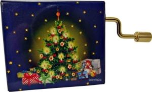 Spieluhren Hand-Kurbelwerk Ummantelung Weihnachtsbaum (Melodien Auswahl: O Tannenbaum)