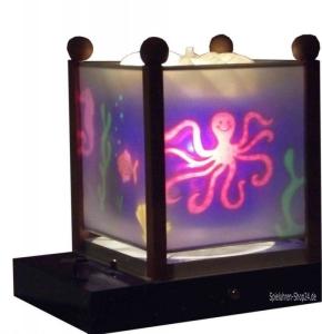Magische Laterne mit Kinder-Spieluhr Trousselier, verschiedene Motive