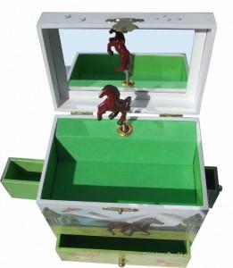 Pferde im Galopp - große Spieluhr Enchantmints