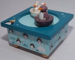 Trousselier Spieluhr Pinguine