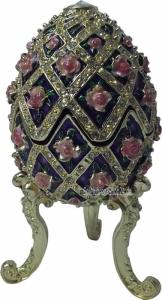 Blumendesign Schmuckei im Stil Fabergès mit Spieluhr