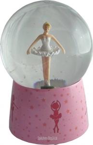 Schneekugel von Trousselier, versch. Motive, Ballerina, Sophie, Winnie Puuh und weitere .... (Figur: Ballerina)