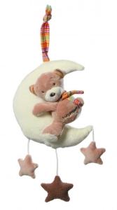 Baby-Spieluhr, Teddy auf  Mond,BabyFehn