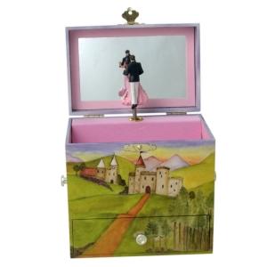 Erwachsenen-Spieluhr, drehendes Tanzpaar , Enchantmints