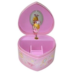 Spieluhr in Herzform Kleine Prinzessin von Trousselier