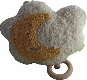 Baby Spieluhr Wolke mit Mond, Serie Efie naturline (Melodienauswahl: Mozart?s Lullaby)