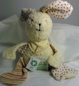 Lustiger Hase Baby Spieluhr (kbA) aus dem Hause Efie (Spieluhren-Melodie wählen: Guter Mond, du gehst so stille)