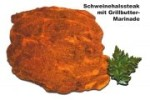 Schweinehalssteak mit Grillbutter-Marinade (Grillsteak: 1 Grillsteak vom Hals ca. 160-180gr)