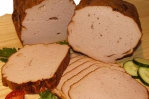 Fleischkäse - fein (Fleischkäs fein: Fleischkäse fein geschnitte 300gr)