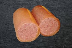 Gekochte Zwiebelwurst - Frühstücksfleisch (Gekochte Zwiebelwurst: Frühstücksfleisch a. Stück 250gr)