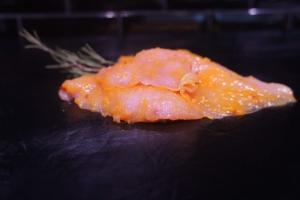 Hühnerbrustfilet mit Mango-Chili Marinade (Hühnerbrüstchen: 1 Stk. Hühnerbrüstchen ca 110 gr - Mango-Chili-Marinade)