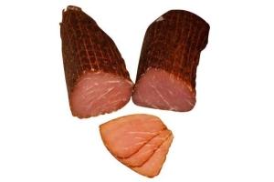 Lachsschinken vom Schwäbisch-Hällischen Landschwein (Lachsschinken: Lachsschinken geschnitten 200gr)