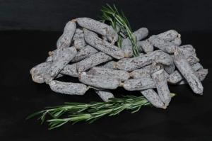 Salamipralinen / Minisalami mediterran vom Schwäbisch-Hällischen Landschwein (Minisalami′s: Minisalami mediteran ca.22gr)