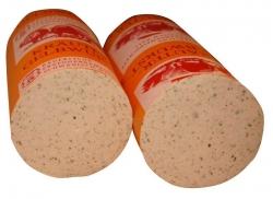 Gelbwurst mit Kräuter (Kräutergelbwurst: Gelbwurst mit Kräuter a.Stück 0,500 kg)