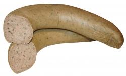 Kräuterleberwurst im Ring (Kräuterleberwurst im Ring vom Schwäbisch-Hällischen-Landschwein: 1/2 Stück/Ring ca. 300g)
