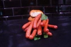 Pfefferbeisser geräucherter Rohesser (Pfefferbeisser - luftgetrockneter Rohesser: 1 Stück ca. 25 gr fest)