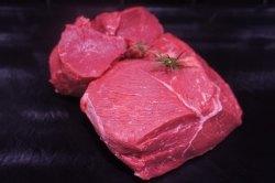 Rinderhüfte oder Hüftfilet vom Hohenlohener Weiderind (Rinderhüftfilet vom Hohenlohener Weiderind - Rindfleisch der Spitzenklasse: ca.250 g)