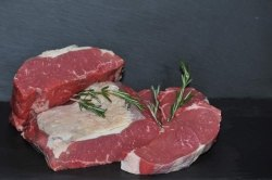 Dry aged Rumpsteak vom Hohenlohener Weiderind dry aged beef (Rumpsteak: ca.200gr)