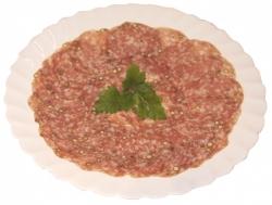 Salami mit Urwaldpfeffer (Salami mit Urwaldpfeffer vom Schwäbisch-Hällischen-Landschwein: 250 g am Stück)