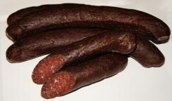 Delikatess Parmak Sucuk - Balkan Rinder-Knoblauch-Rohwurst Sudzuk?? (Delikatess Balkan Knoblauch-Rohwurst Sudzuk: Sucuk ca. 500 g)