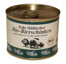 Bio - Schwäbisch-Hällischer Bio-Bierschinken - 200g Dose (Bio-Bierschinken in der 200 g Dose vom Schwäbisch-Hällischen Landschwein: 1 Dose 200 g)