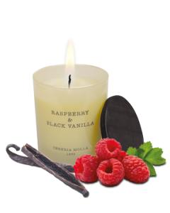 Duftkerze Himbeer & Black Vanilla (250 g)