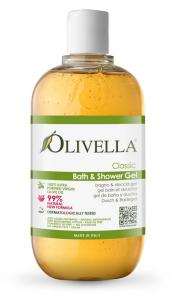 Oliven Bade- und Duschgel (500 ml) (Duft: Vanilla)