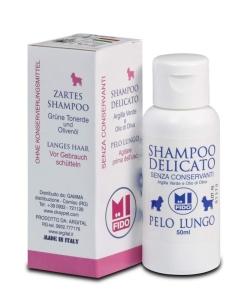 MI FIDO Hunde Pflegeshampoo für Langhaar (Größe: 50 ml)
