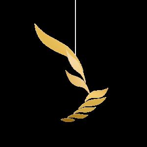 Großes Mobile Rhythm (Farbe: Gold)