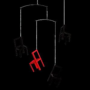 Mobile Fliegende Stühle