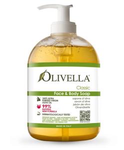 Oliven Milde Flüssigseife Classic (500 ml)