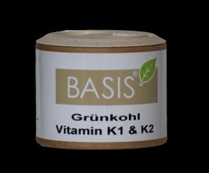 Grünkohl Vitamin K1 & K2 Kapseln (Größe: 90 Kapseln)